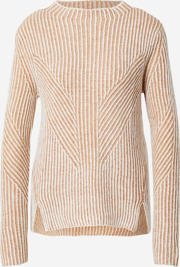 MINE TO FIVE Sweater in beige / white, Item view
