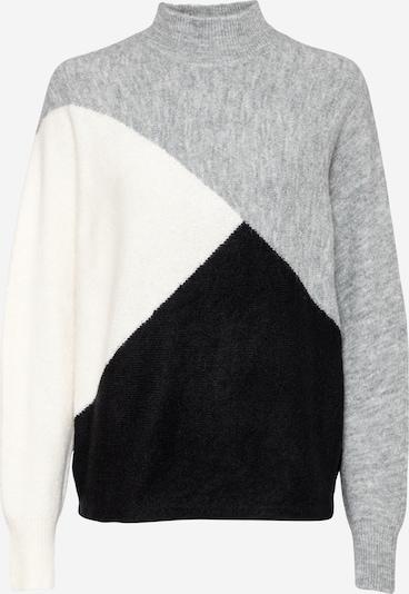 Dorothy Perkins Pullover in graumeliert / schwarz / weiß, Produktansicht