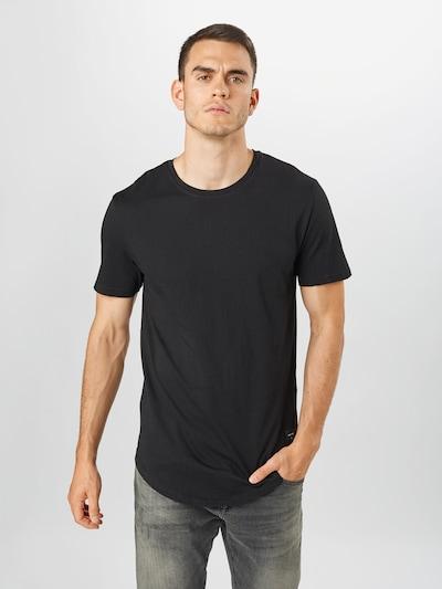 Only & Sons Koszulka 'Matt' w kolorze czarnym: Widok z przodu