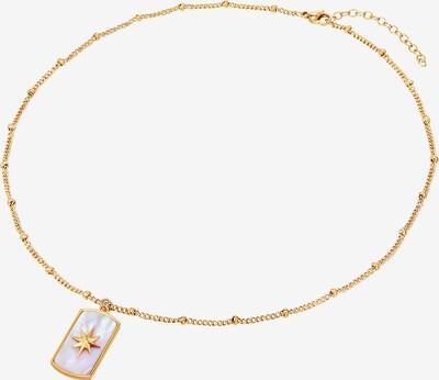 Valero Pearls Edelstahl-Kette in goldgelb, Produktansicht