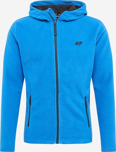 Jachetă  fleece funcțională 4F pe albastru cer, Vizualizare produs
