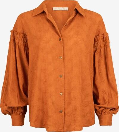 Isla Ibiza Bonita Blouse 'FIORE' in orange, Produktansicht