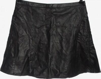 H&M Kunstlederrock in M in schwarz, Produktansicht