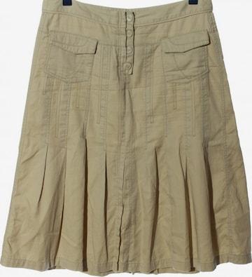 Sandwich Skirt in L in Beige