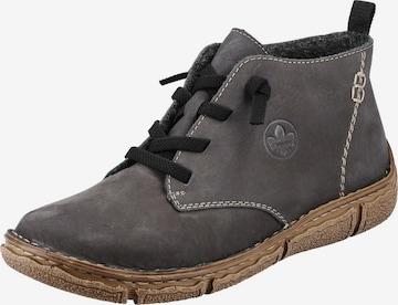 RIEKER Boots 'L3711' in Grau