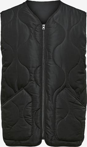 SELECTED HOMME Vest in Black