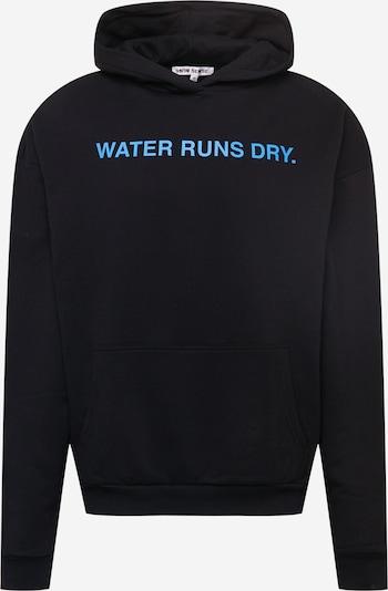 9N1M SENSE Sweatshirt 'Water Runs Dry' in Light blue / Black, Item view