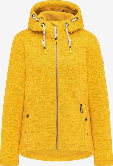 Schmuddelwedda Fleecejacke in gelb, Produktansicht