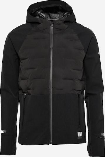Superdry Sportjas in de kleur Zwart / Wit, Productweergave