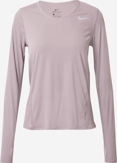 NIKE T-shirt fonctionnel en gris argenté / mauve, Vue avec produit