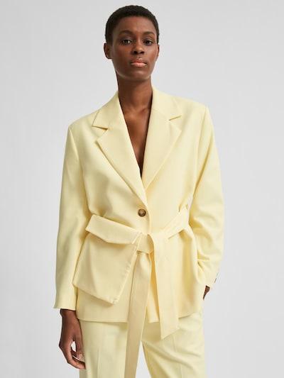 SELECTED FEMME Blejzer 'Malli' - pastelovo žltá, Model/-ka