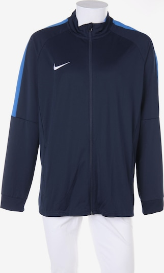 NIKE Sweatjacke in XL in nachtblau, Produktansicht