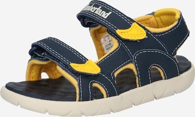 TIMBERLAND Chaussures ouvertes 'Perkins' en bleu marine / jaune, Vue avec produit