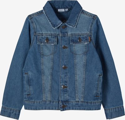 NAME IT Tussenjas 'Tpims' in de kleur Blauw denim, Productweergave
