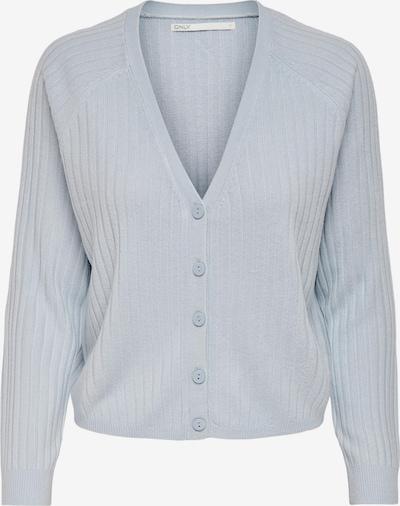 ONLY Cardigan 'Amalia' en bleu clair, Vue avec produit