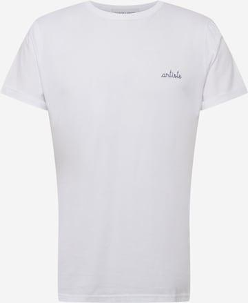 T-Shirt 'POITOU ARTISTE' Maison Labiche en blanc
