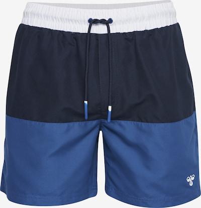 Hummel Board Shorts in blau / navy / weiß, Produktansicht
