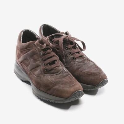 HOGAN Sneaker in 35 in dunkelbraun, Produktansicht