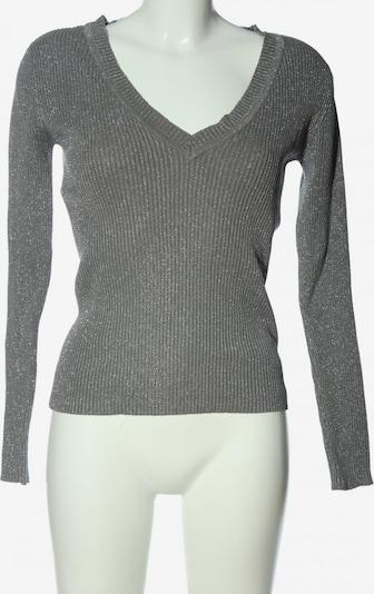 saix V-Ausschnitt-Pullover in M in hellgrau, Produktansicht