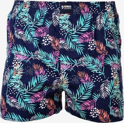 Happy Shorts Boxershorts in dunkelblau / mischfarben, Produktansicht