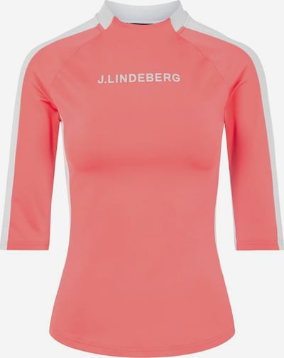 J.Lindeberg Top 'Margot' in de kleur Pink / Wit, Productweergave