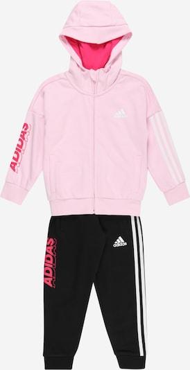 ADIDAS PERFORMANCE Träningsoverall i rosa / rosa / svart / vit, Produktvy