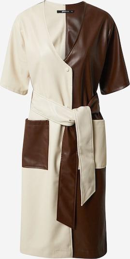 Gina Tricot Kjole 'Stina' i beige / brun, Produktvisning