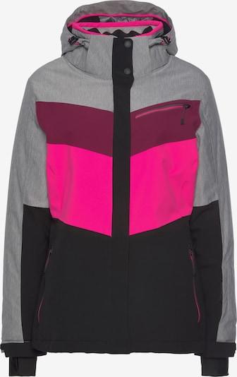 KILLTEC Outdoor Jacket in Grey / Pink, Item view
