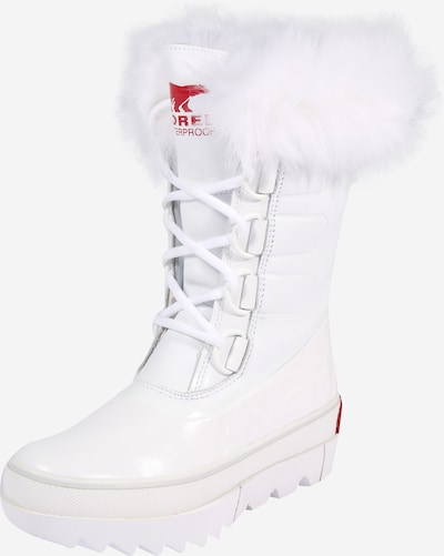 SOREL Snow boots 'Joan of Arctic' in Red / Off white, Item view
