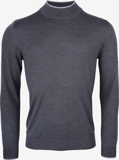 ROY ROBSON Pullover in silbergrau / dunkelgrau, Produktansicht