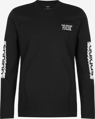 ADIDAS PERFORMANCE Shirt 'Scrable' in schwarz / weiß, Produktansicht