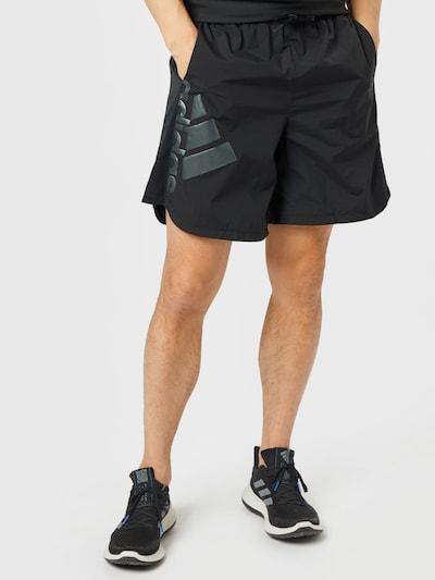 ADIDAS PERFORMANCE Sportovní kalhoty - šedá / černá, Model/ka