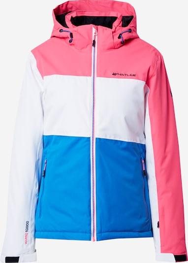 Whistler Zunanja jakna 'KAMILLE' | nebeško modra / roza / bela barva, Prikaz izdelka