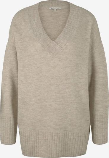 TOM TAILOR DENIM Pullover in beige, Produktansicht