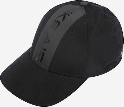 Nike Sportswear Шапка с козирка 'Legacy 91' в сиво / черно, Преглед на продукта