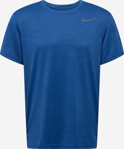 NIKE Sportshirt 'SUPERSET' in dunkelblau: Frontalansicht