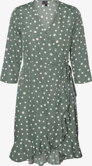 VERO MODA Robe en vert pastel / blanc, Vue avec produit
