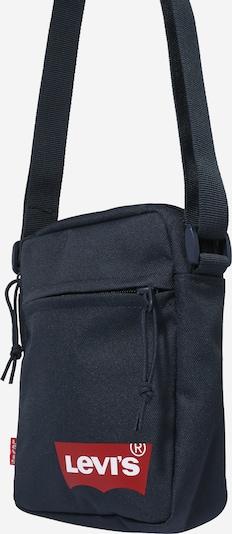 LEVI'S Schoudertas in de kleur Nachtblauw / Vuurrood / Wit, Productweergave