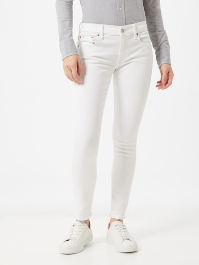 POLO RALPH LAUREN Jeans 'Tompkins' in white denim, Modelansicht