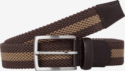 BRAX Gürtel in hellbraun / dunkelbraun, Produktansicht