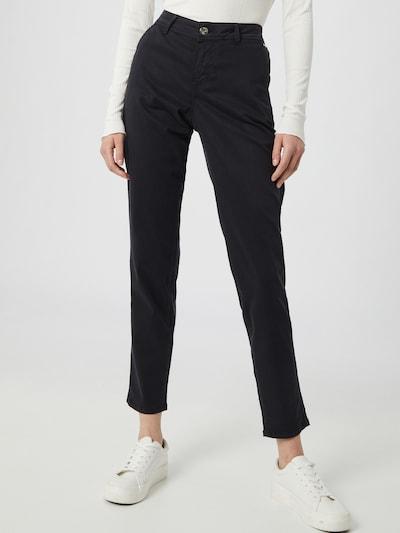"""""""Chino"""" stiliaus kelnės iš TAIFUN , spalva - tamsiai mėlyna jūros spalva, Modelio vaizdas"""
