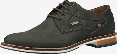 FRETZ MEN Chaussure à lacets en bleu cobalt, Vue avec produit