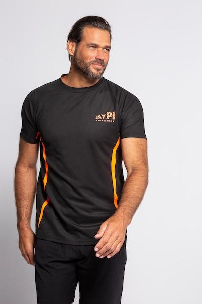 JP1880 Shirt in orange / schwarz: Frontalansicht