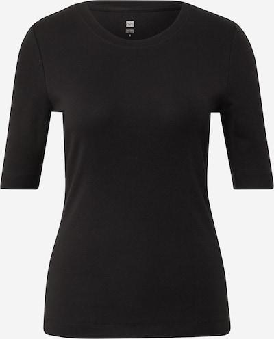 OVS T-Shirt 'SUPIMA' in schwarz, Produktansicht