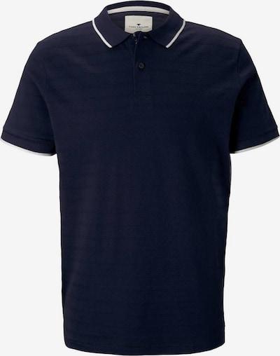 TOM TAILOR Poloshirt in navy / weiß, Produktansicht