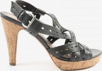 Venturini Milano Sandals & High-Heeled Sandals in 40 in Black