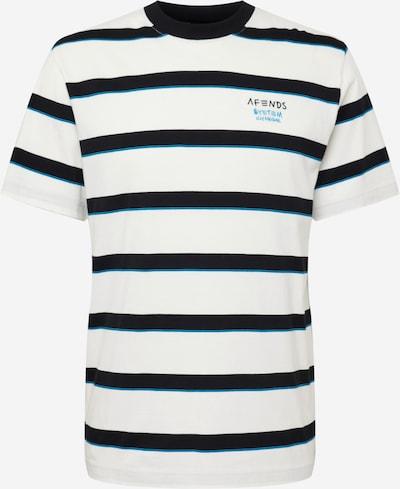 Tricou 'Fight' Afends pe albastru neon / negru / alb, Vizualizare produs