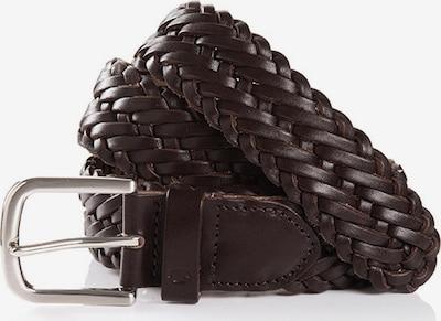 TOM TAILOR Cinturón 'ROBERT' en marrón oscuro, Vista del producto