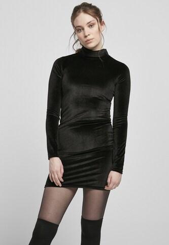 Urban Classics Kokteilové šaty - Čierna