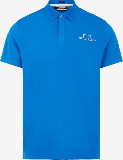J.Lindeberg Poloshirt in blau / weiß, Produktansicht